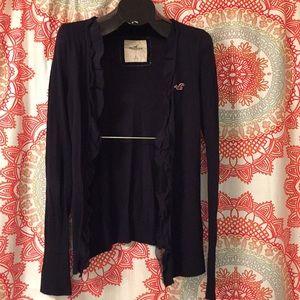 Hollister L Cardigan Sweater Top